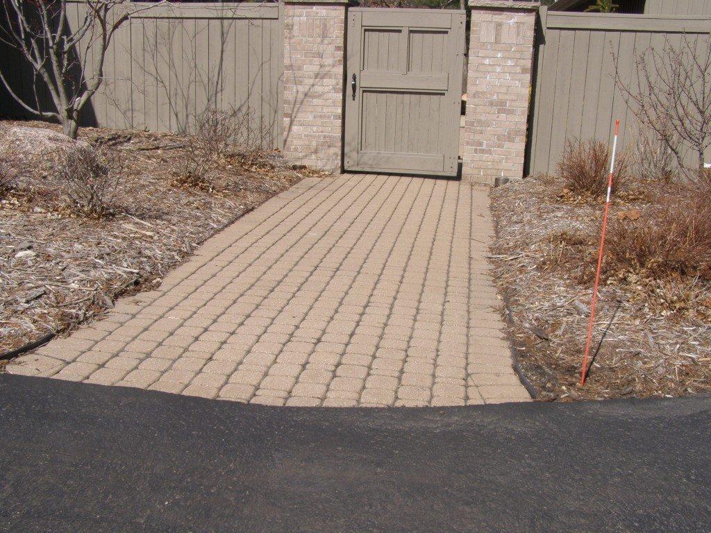 Paver Sidewalk Image