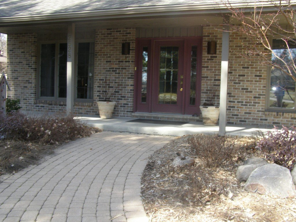 Front Entryway Paver Sidewalk 2 Image