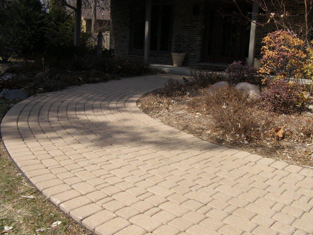Front Entryway Paver Sidewalk 3 Image
