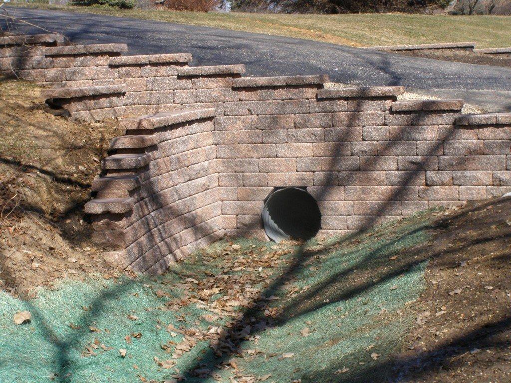Driveway Culvert Retaining Wall 50 Image