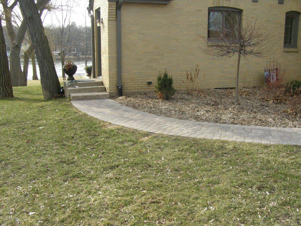 Landscape Renovation Paver Sidewalk 64 Image