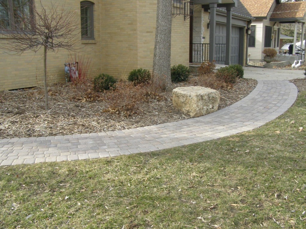 Landscape Renovation Paver Sidewalk 65 Image