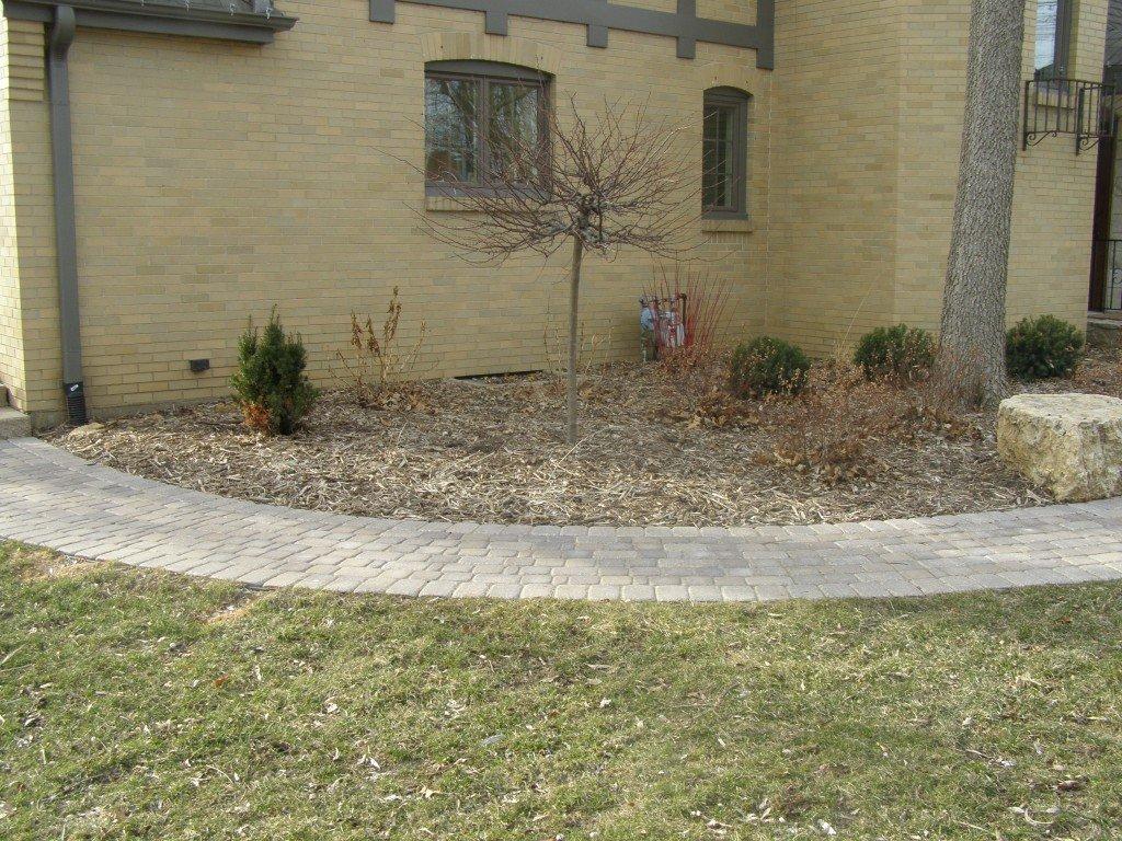 Landscape Renovation Paver Sidewalk 66 Image