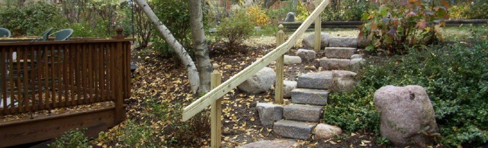 Pond Stairs