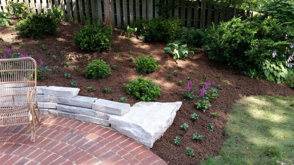 Retaining wall design | RE Marshall | Rockford IL