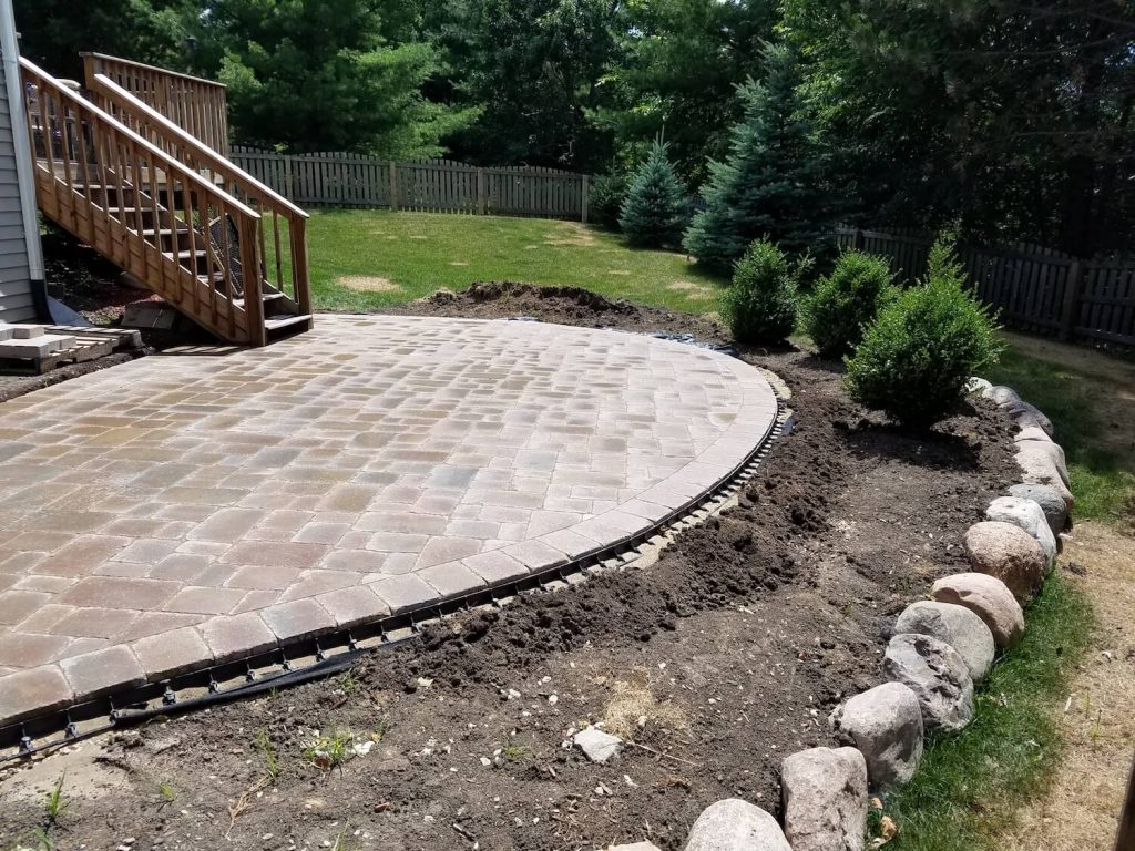 big paver patio | RE Marshall | Rockford IL
