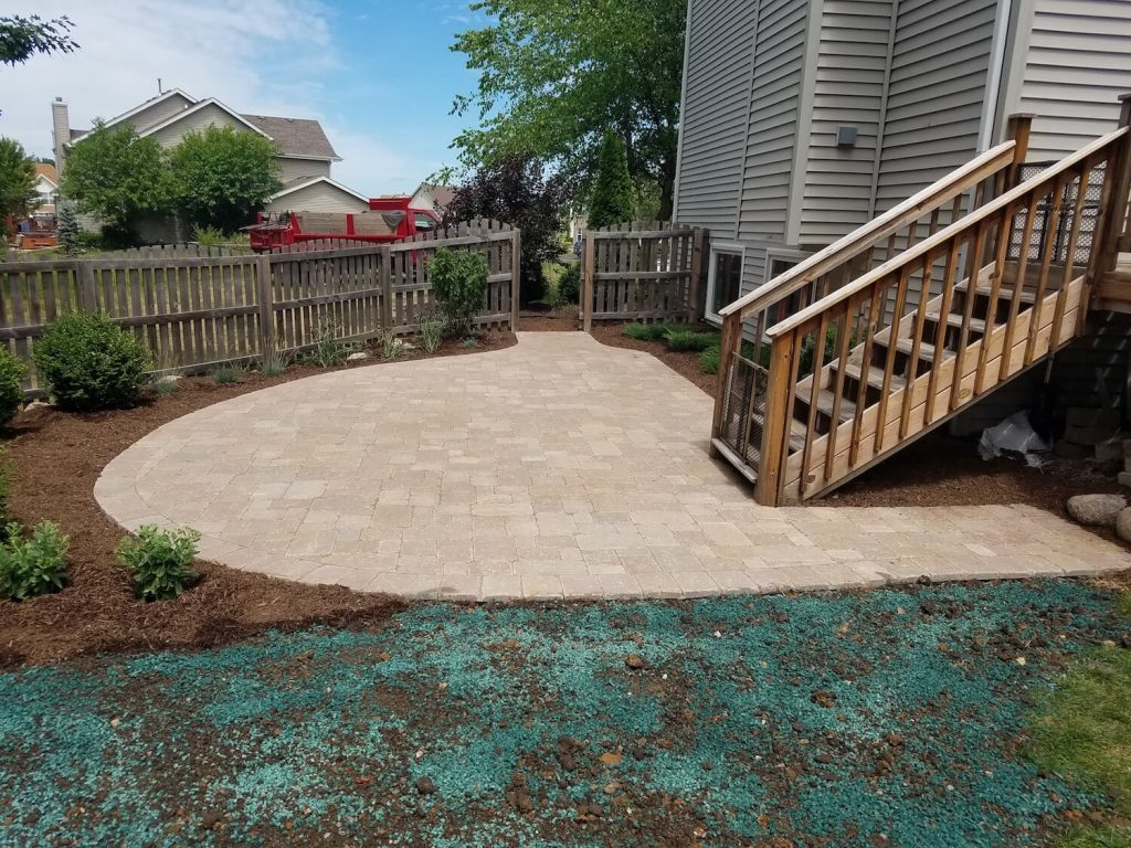 Patio Grass | RE Marshall | Rockford IL